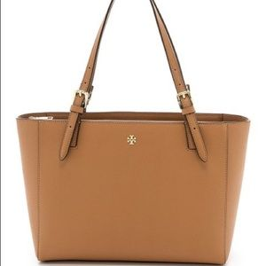 Tory Burch Emerson Leather Buckle Tote SALE $225